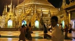 Burma Buddha 8 - stock footage