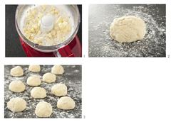 Steps to Make Buttermilk Biscuits Stock Illustration