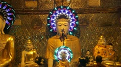 Stock Video Footage of Burma Buddha 15