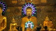 Burma Buddha 15 Stock Footage