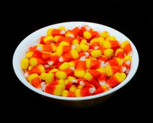 Candy corn is where it is at Stock Photos