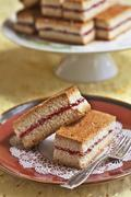 Cuban Guava Cakes Stock Photos