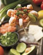 Mexican Style Shrimp Cocktail Stock Photos