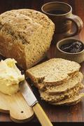 Mixed-grain bread Stock Photos