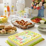 Baby Shower Buffet Table Stock Photos