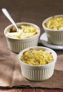 Migon potatoes (roasted potato strips) - stock photo