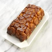 Loaf of Monkey Bread with Caramelized Sugar Topping Stock Photos