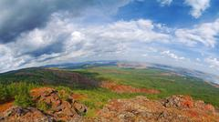 ural mountains. russia - stock photo