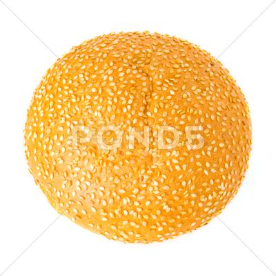 Stock photo of sesame bun