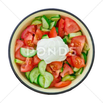 Stock photo of salad
