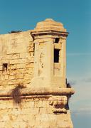 architecture of malta - stock photo