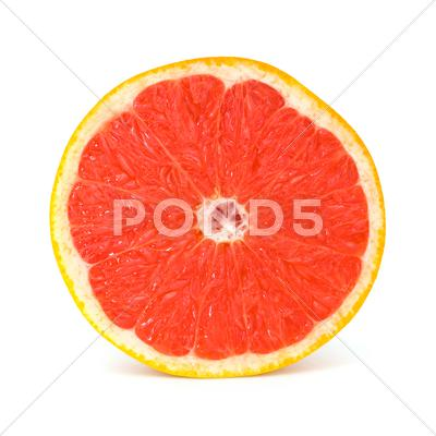 Stock photo of fresh grapefruit