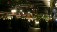 Tokyo illumination - Christmas market crowd at Roppongi hills / Mori Tower - HD Stock Footage
