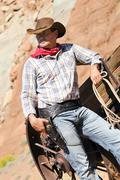 Cow boy spirit Stock Photos