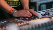 Sound Engineer Stock Footage