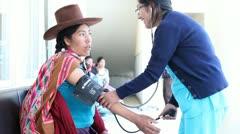 Medical Centre (Cusco Area) Peru Stock Footage