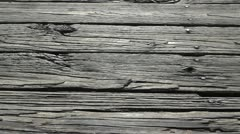 Old deck wood Stock Footage