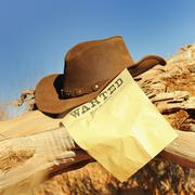 wanted far west - stock photo