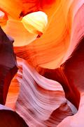 the antelope canyon, page, - stock photo