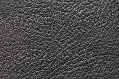 Background of black leather Stock Photos