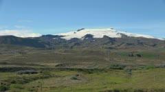 Iceland Oraefajokull ice cap Stock Footage
