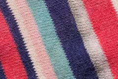 Background of a striped fabric Stock Photos