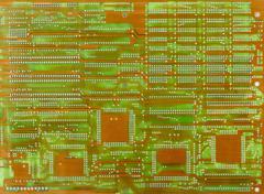 Old electronic scheme Stock Photos