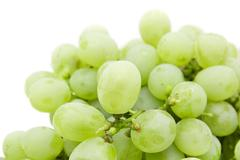 Stock Photo of ripe juicy green grapes