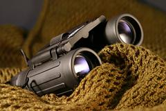 military spyglass closeup - stock photo