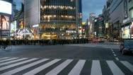 HD_Tokyo_Shibuya Crossing Crowd Start Stock Footage
