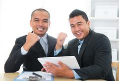 Southeast businessteam achievement Stock Photos
