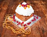 Stock Photo of christmas creamy cake