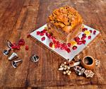 Stock Photo of christmas cake