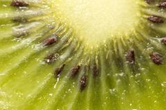 Kiwi as background. macro Stock Photos