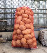 Sack of potatoes Stock Photos