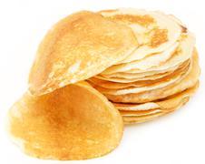 Stock Photo of delicious sweet pancakes