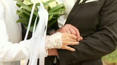 Weding Couple Stock Footage