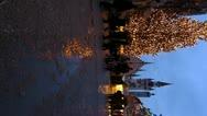 Europe Germany Munich Marienplatz Christmas Advent Fair Market Xmas Stock Footage