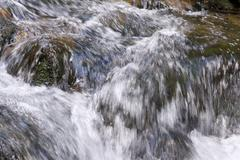 mountain stream - stock photo