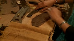 Stock Video Footage of Cigar Production (Handmade, Cuba)