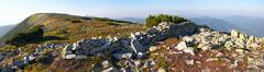 mountain stony view - stock photo