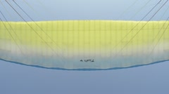 paraglider wing - stock footage