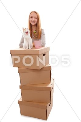 Stock photo of we move!