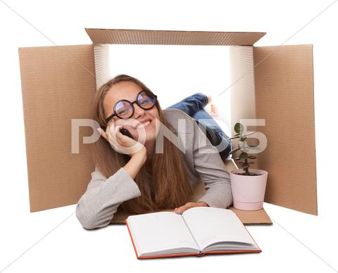 Stock photo of small office