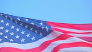Flag of the USA Stock Footage