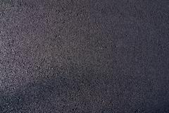 Stock Photo of new asphalt laid on the road