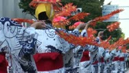 Stock Video Footage of Geisha performance in the streets of Nagoya in Japan