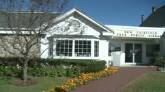 New Fairfield Free Public Library (3 of 6) Stock Footage