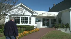 New Fairfield Free Public Library (2 of 6) - stock footage