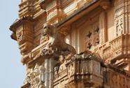 Stock Photo of architectural detail in india